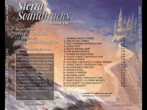 Sierra Soundtracks (Volume One) (Quest Studios) [1998] [OST]