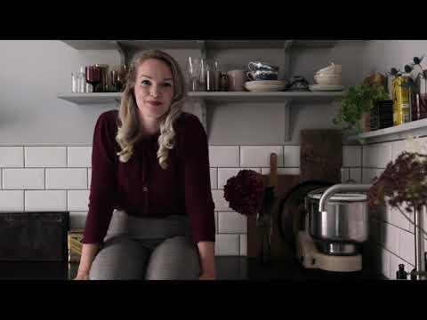 Emma Sundh målar om köket – slutresultatet