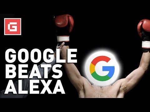 Google BEATS Siri and Alexa!