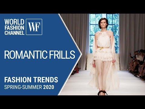Romantic frills | Fashion trends spring-summer 2020