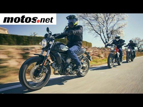 Comparativo Scrambler 400-500cc / Prueba / Review en español