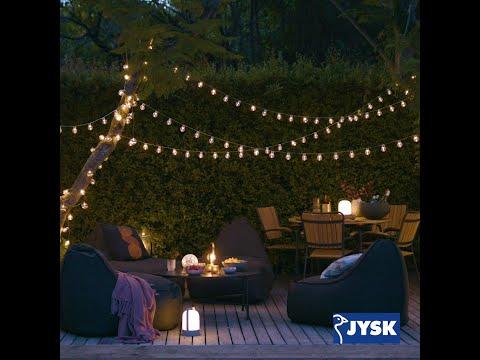 Hyggeaftener på terrassen eller altanen | JYSK