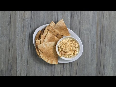 How to Make Flatbread & Hummus Delight