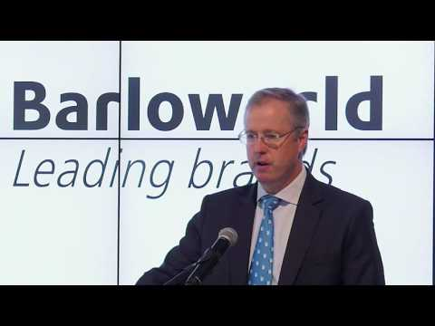 Barloworld opening the stock markets on the JSE - celebrating 75 years listed on the JSE