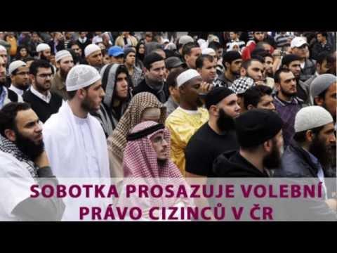 Tomio Okamura: Sobotka prosazuje volební právo cizinců v ČR