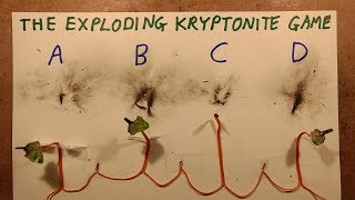 The Exploding Kryptonite Game.  Let's play the game!
