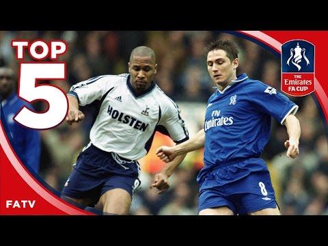 Chelsea vs Tottenham - Greatest FA Cup ties | Top Five