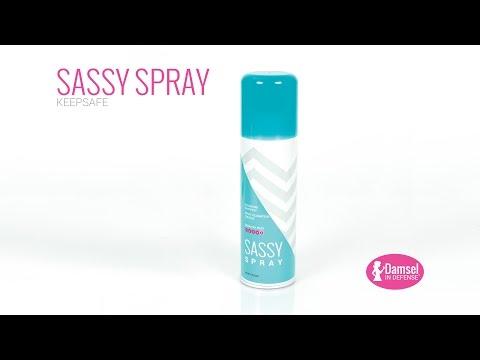 Damsel in Defense   Sassy Spray Keepsafe