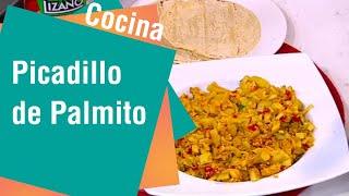 Receta de Secretos de Cocina de Unilever: Picadillo de Palmito