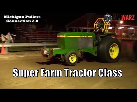 Super Farm Tractor Class TTPA Tractor Pulls At Peck Michigan June 1 2018
