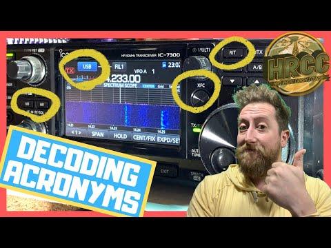 Explaining Ham Radio Acronyms and Terms