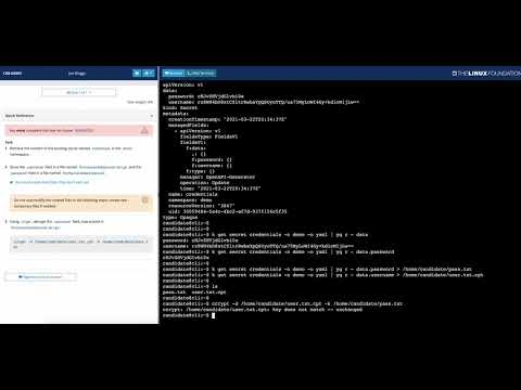 Kubernetes Certification Exam Environment Preview