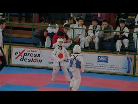 Черненко Сергей 1 бой 3 раунд
