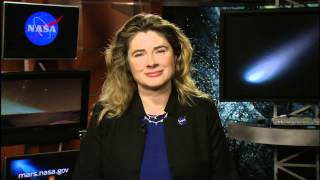 NASA | Siding Spring live shot with Michelle Thaller