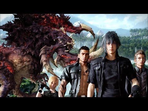 Final Fantasy 15: Fighting a Bandersnatch