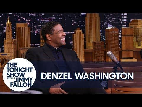 connectYoutube - Denzel Washington Wonders Where Exactly Drake Tattooed His Face