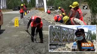 BRO constructs 3 bridges in Ladakh to facilitate Indian Army, civilians - INDIATV