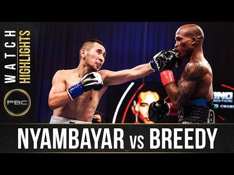 Nyambayar vs Breedy HIGHLIGHTS: September 19, 2020 | PBC on SHOWTIME