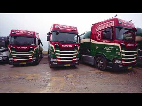 Demstrup Autotransport får 30 nyindkøbte Scania biler fra Scania Aarhus