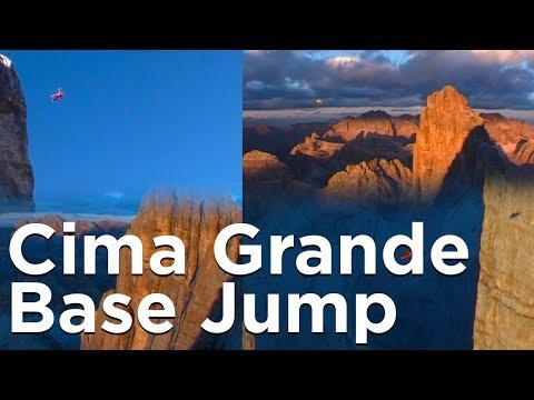 Tre Cime di Lavaredo Cima Grande Dolomites Base Jump Septembre 2002