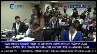Audiencia de prisión preventiva contra Luis Castañeda Lossio (4/4)