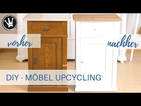 DIY – Möbel Upcycling | mit Kreidefarbe streichen | Holz ölen | Lack entfernen Tipps &Tricks