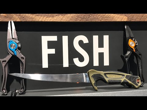 Gerber Fishing Gear: Filet Knives, Pliers, Scissors, and More - Shot Show 2019