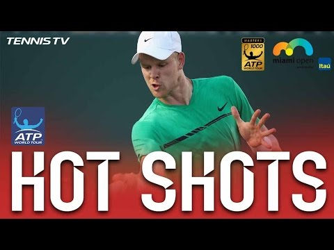 Hot Shot: Edmund Fires Ferocious Forehand At Miami 2017