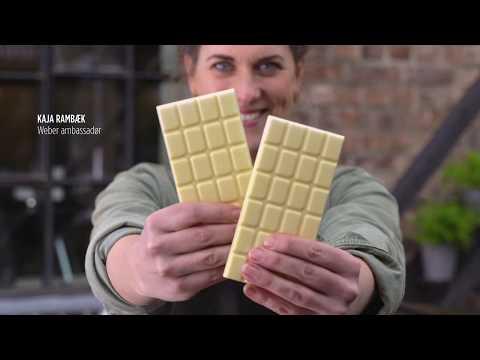 Kaja Rambæk Holmboe Bangs grillede plommer med hvit sjokolade