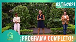 Giros: Programa del 03 de Junio del 2021