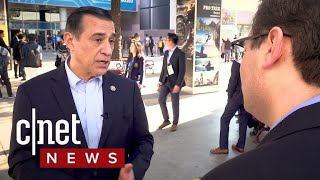 Rep. Darrell Issa talks about tech at CES 2018