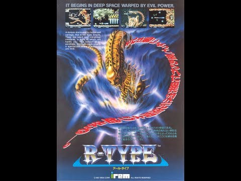 R-Type Arcade Gameplay One Credit All