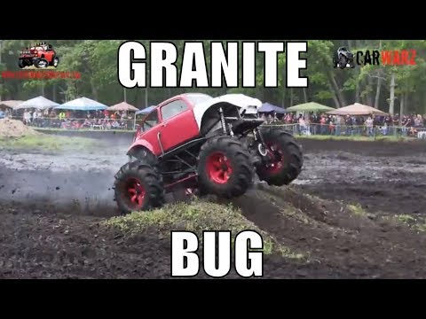 GRANITE Bug Digs In At Perkins Spring Mud Bog