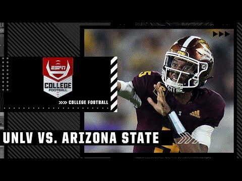 UNLV Rebels at Arizona State Sun Devils | Full Game Highlights