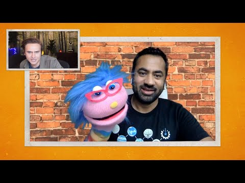 Kal Penn Has Taken Up Puppetry - Team Coco LIVE: Moses Storm & Friends