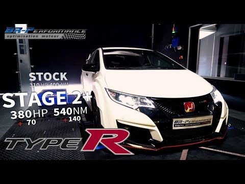 Honda Civic 2.0T Type R Remap Stage 2+ By BR-Performance