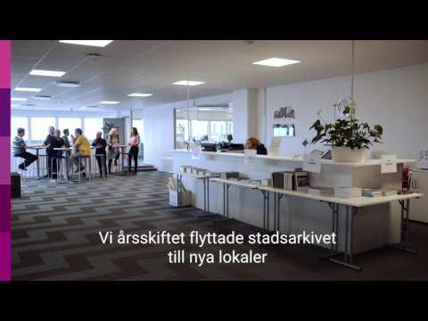 Stadsarkivet i Helsingborg har ett elektroniskt arkiv i drift