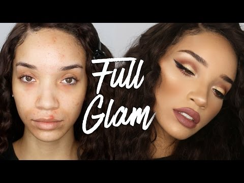 Full Coverage Glam Makeup | Marc Jacobs Foundation