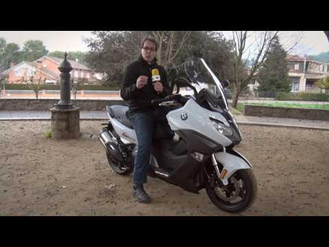 Motosx1000 : Test BMW C650 Sport