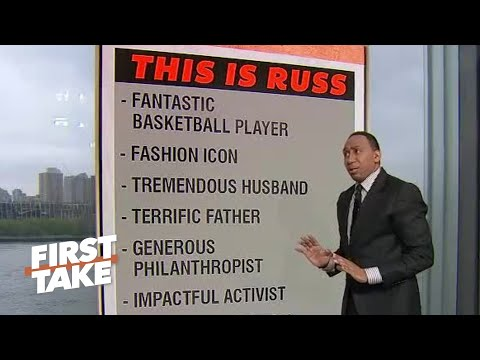 Stephen A. pays tribute to Russell Westbrook before sounding OFF on Scott Brooks | First Take
