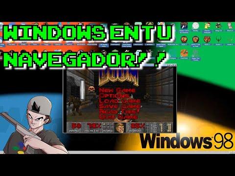EMUOS || Windows retro en tu navegador!!