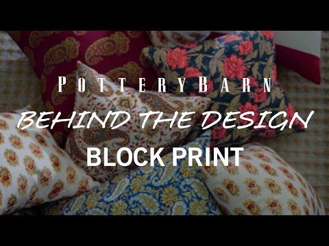 Behind the Design, Block Print