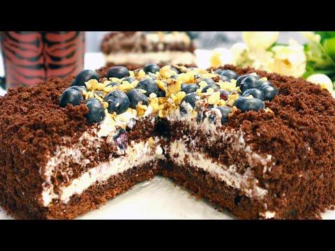 Самый Быстрый Простой Шоколадный Торт Без Весов!Не нуждается в пропитке/Сочный Нежный Тает во рту!