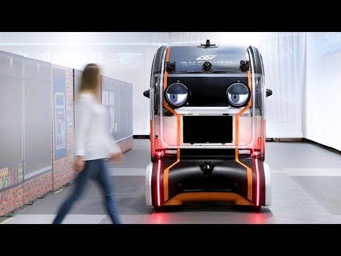 Jaguar Land Rover's prototype driverless car makes eye contact with pedestrians