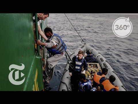 59 Rescues in 2016, Witness the Last | The Daily 360 | The New York Times