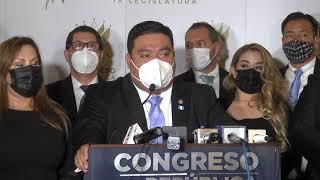 Presidente del Congreso se pronuncia tras denuncia por no trasladar fondos a PDH