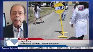 Comienza en Uruguay curso escolar presencial obigatorio