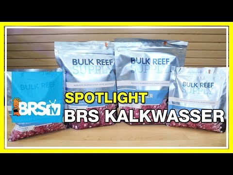 Spotlight on BRS Kalkwasser for supplementing your reef aquarium | BRStv