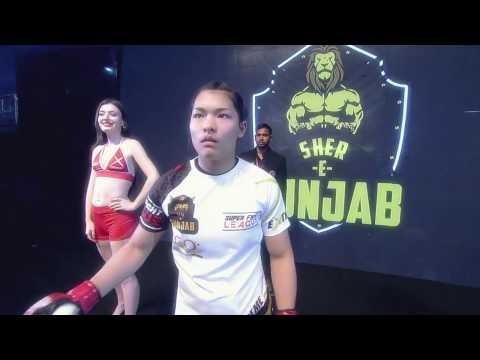 Asha Roka - Best Fighter of the League | Team - Sher-E-Punjab | Super Fight League
