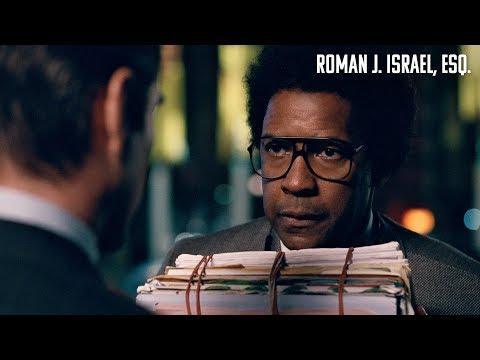 ROMAN J. ISRAEL, ESQ. Rompe el sistema. En cines 4 de mayo.